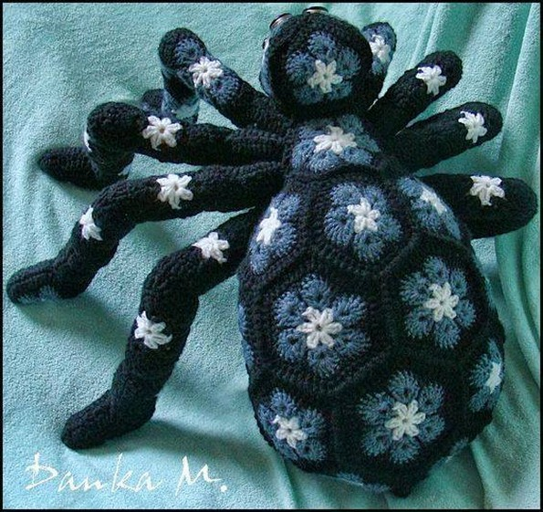 crochet bug pattern