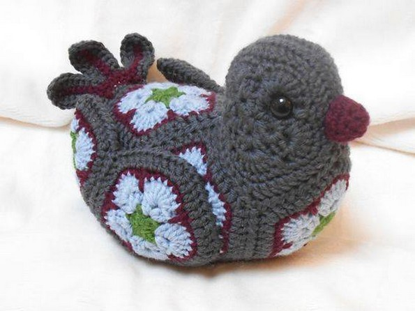 crochet duck child