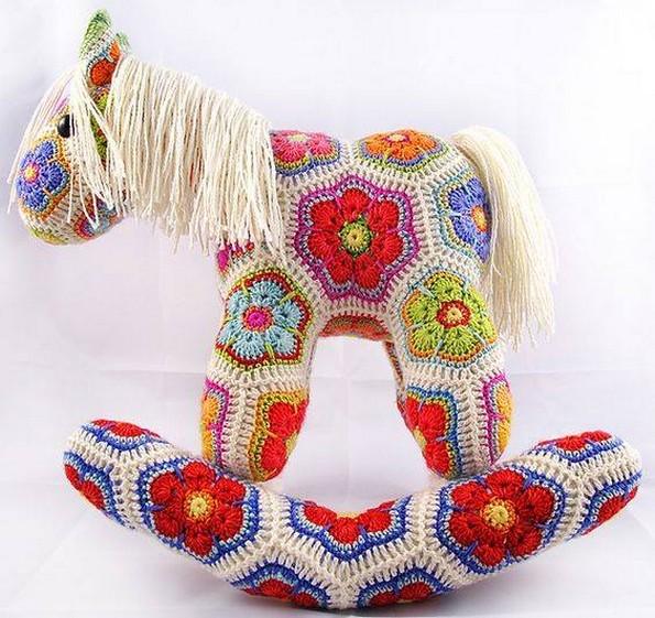 crochet horse pattern