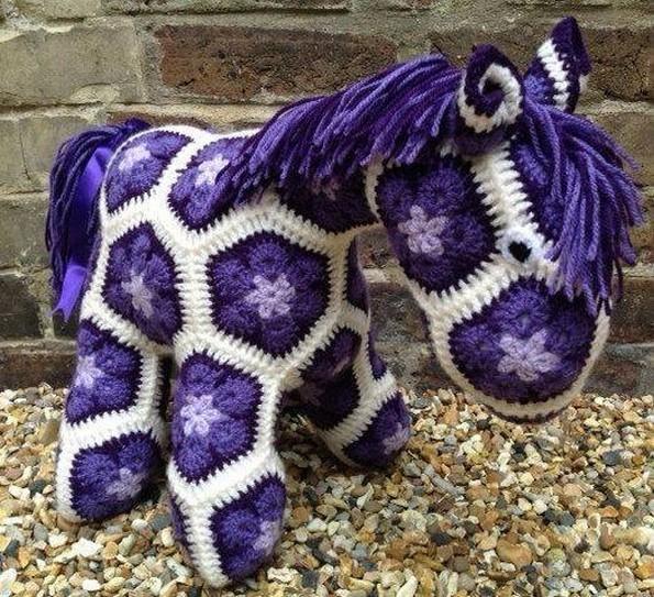 Crochet Animal Patterns Upcycle Art
