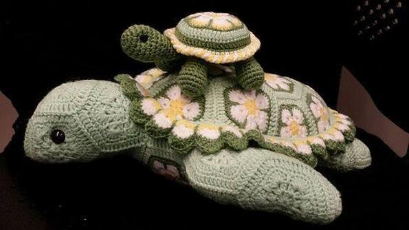 crochet ocean life