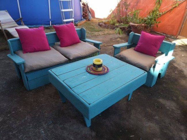 garden pallets furniture