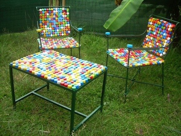 ideas to reuse the bottle caps