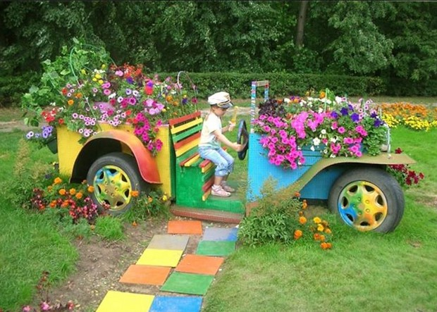 kids playland in garden