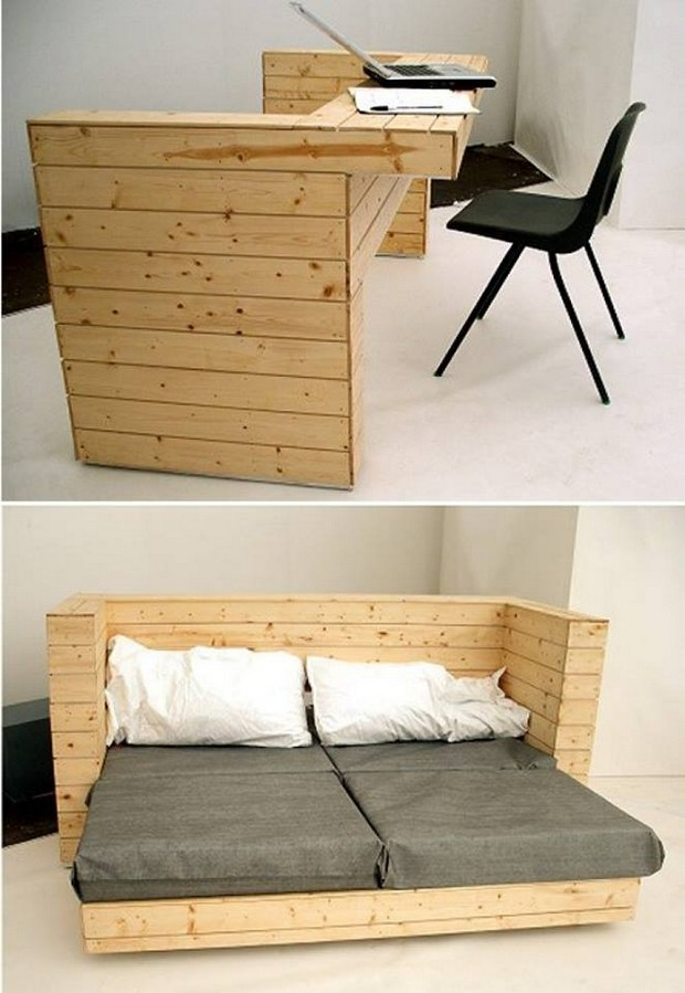 pallet couch cum table