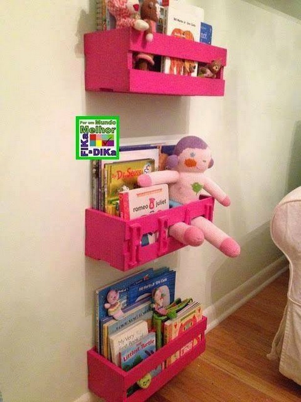 pallet kids shelving