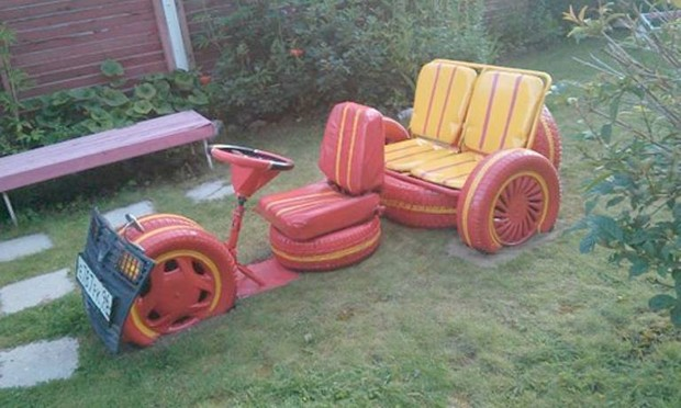 recycled tyres vehicles for kids
