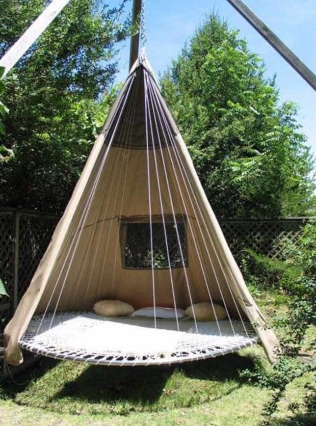 swing ideas for garden