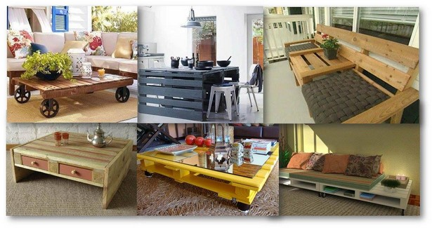 wooden pallet furniture ideas
