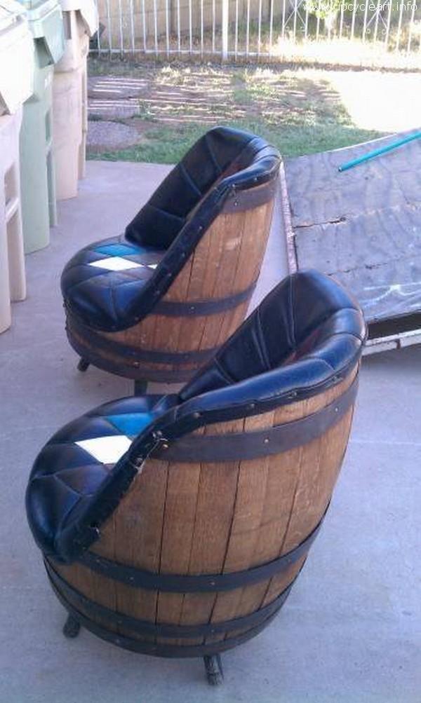 Old Barrel Seating