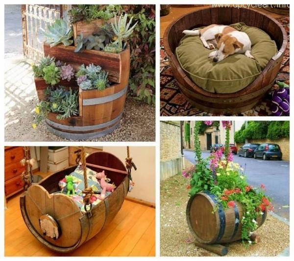 Repurpose Old Barrel Ideas