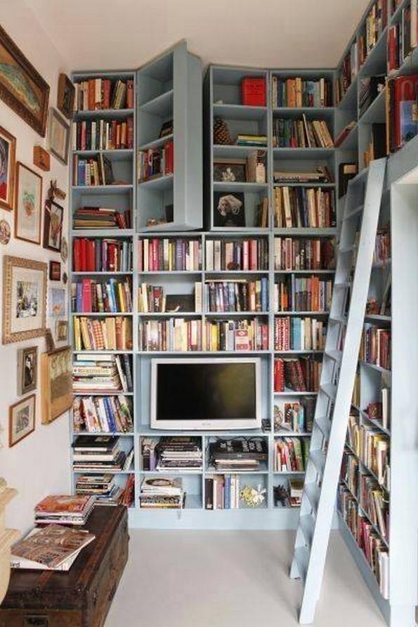 creaitve bookshelves