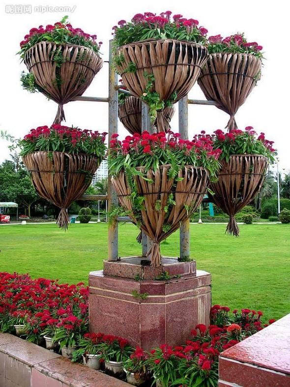 garden decor planters