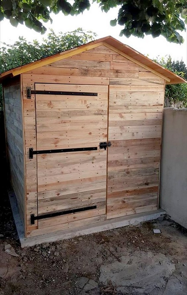 Pallet Wood Garden Shed : Pallet wood outdoor ideas upcycle art