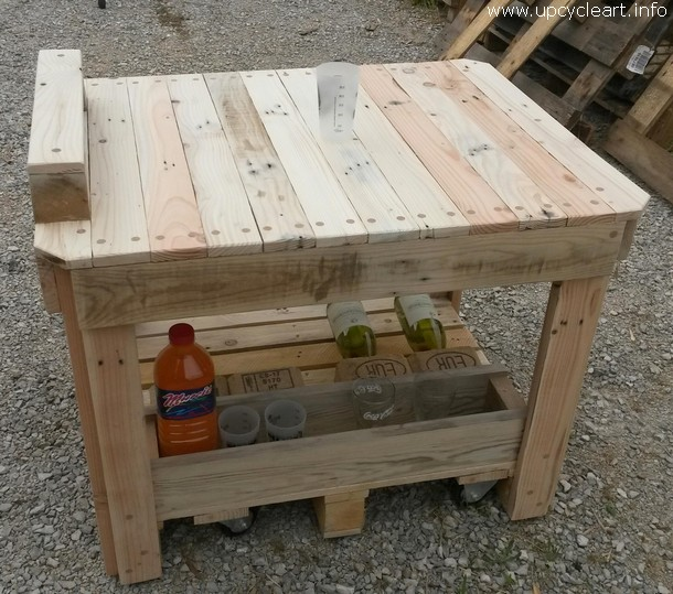 little pallet bar table