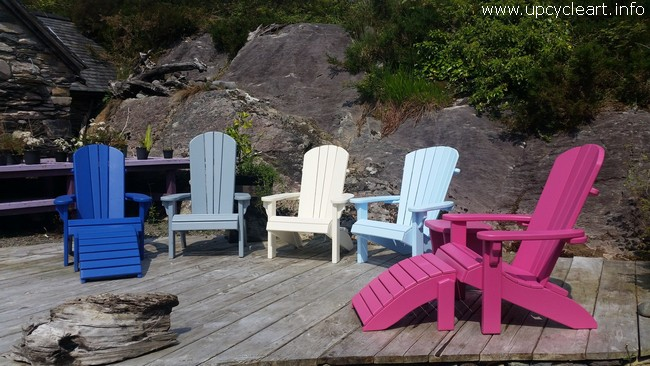 outdoor pallet chairs
