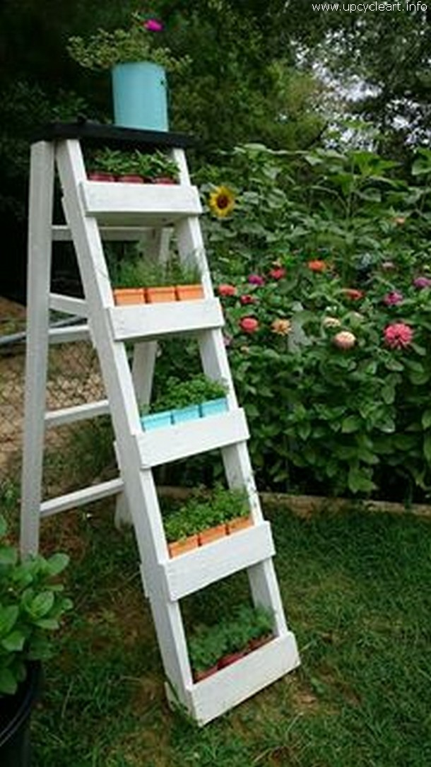 pallet Herb planter made