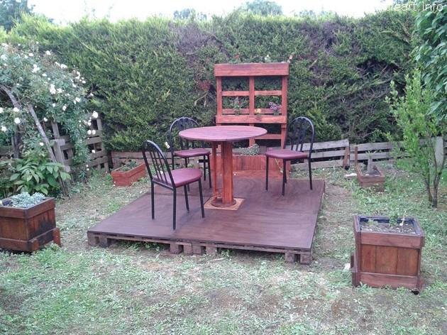 pallet garden lounge