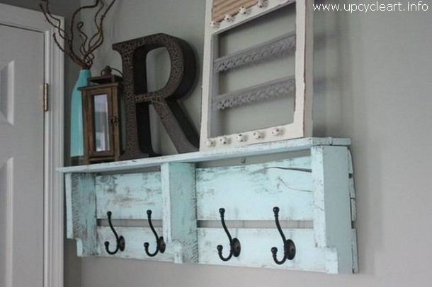 pallet hanger shelf