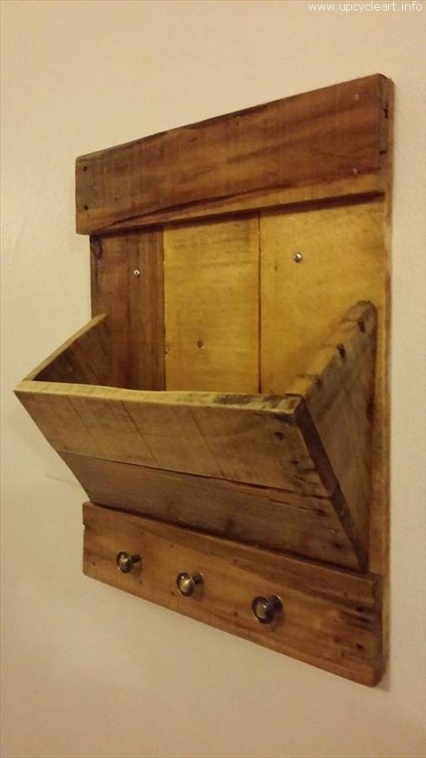 pallet storage shelf