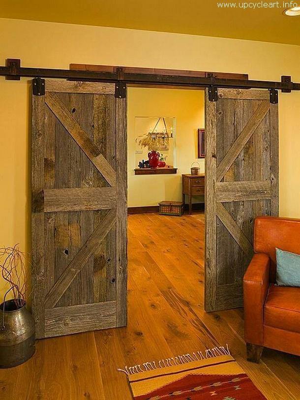 rustic door idea