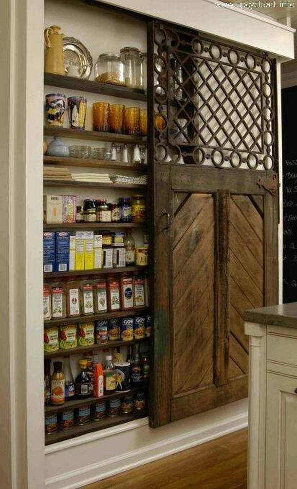 rustic storage idea