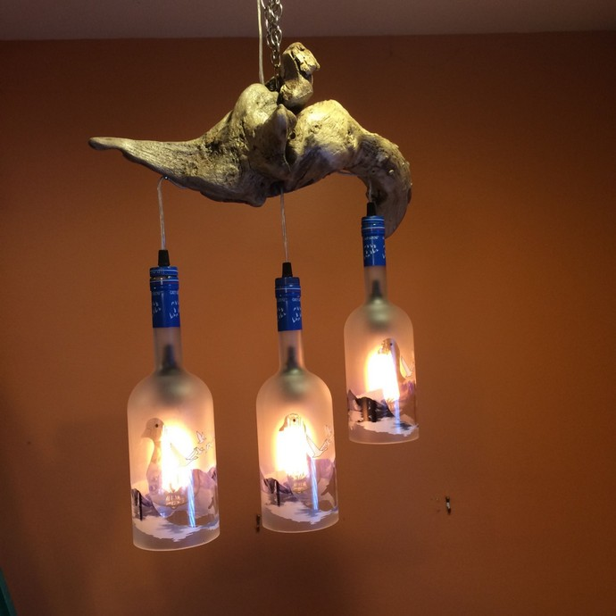Driftwood Chandelier Hanging Light