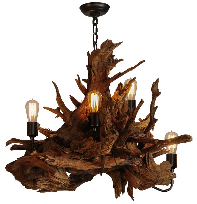Driftwood Chandelier Project