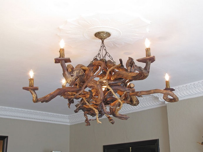 Driftwood Decor Chandelier