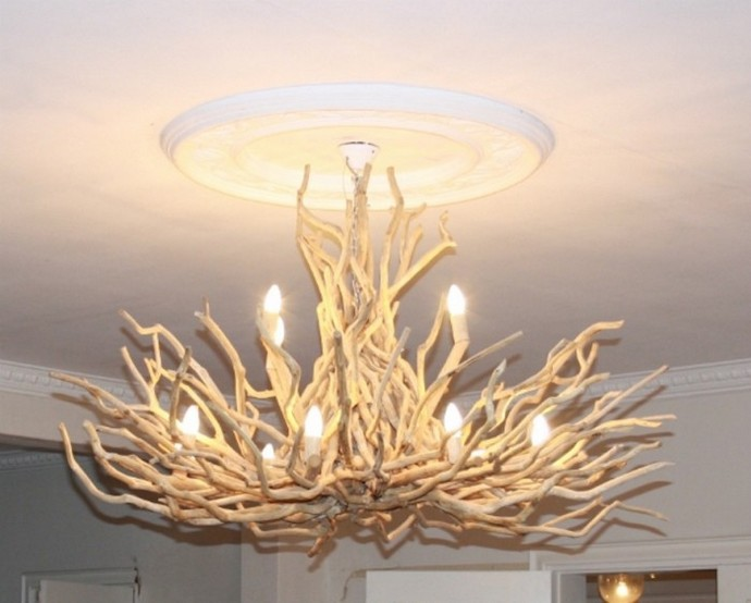 High Thorn driftwood lights