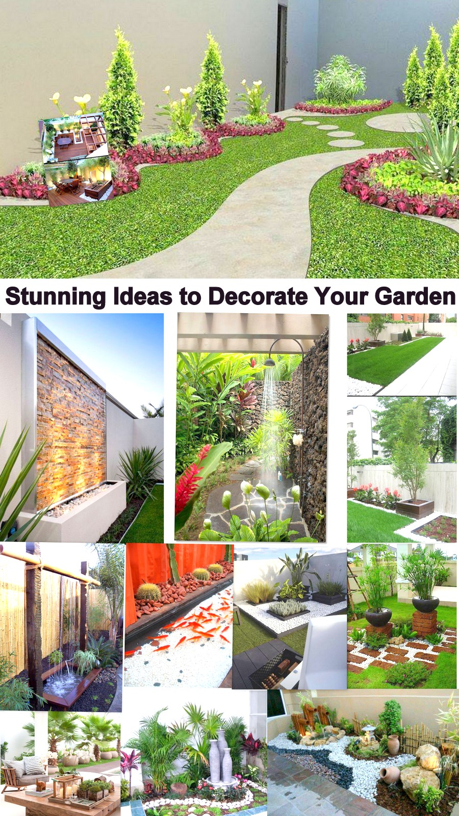 Stunning Ideas To Decorate Your Garden