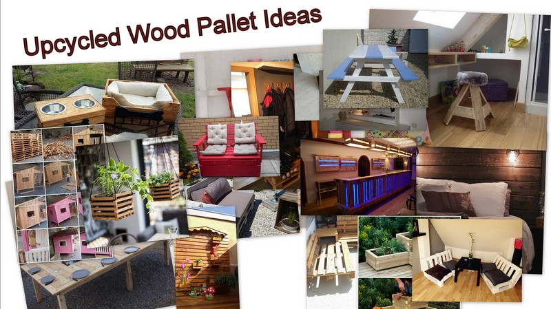 Upcycled Wood Pallet Ideas