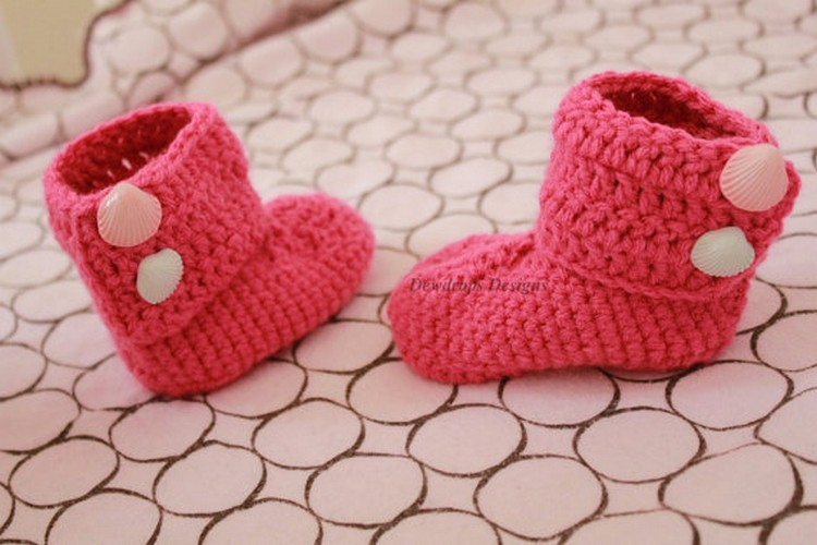crochet kids shoes