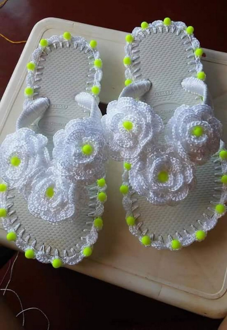 crochet shoes idea