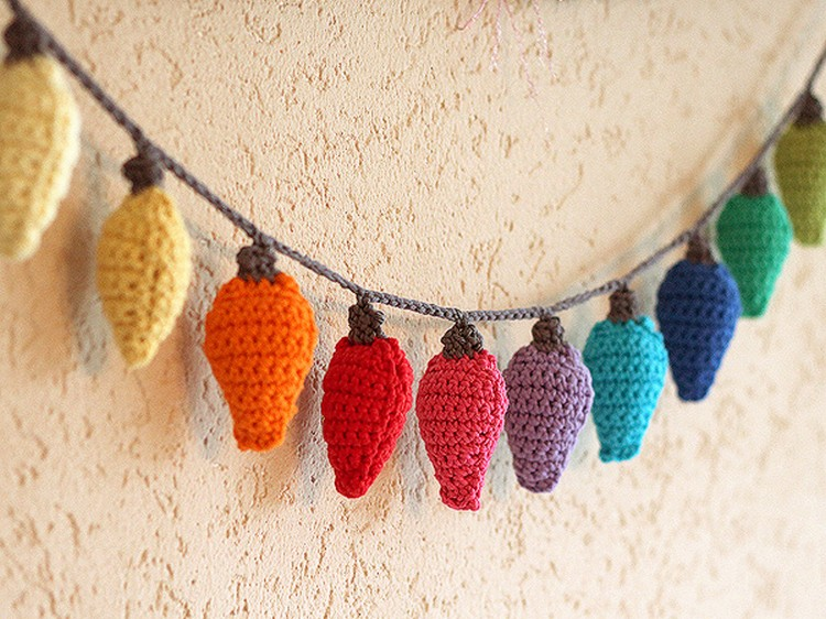 crochet wall decor