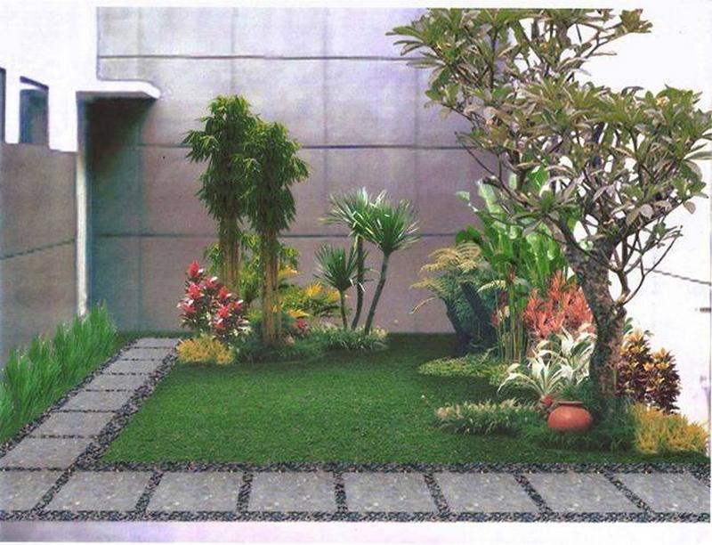 decor of outdoor garden
