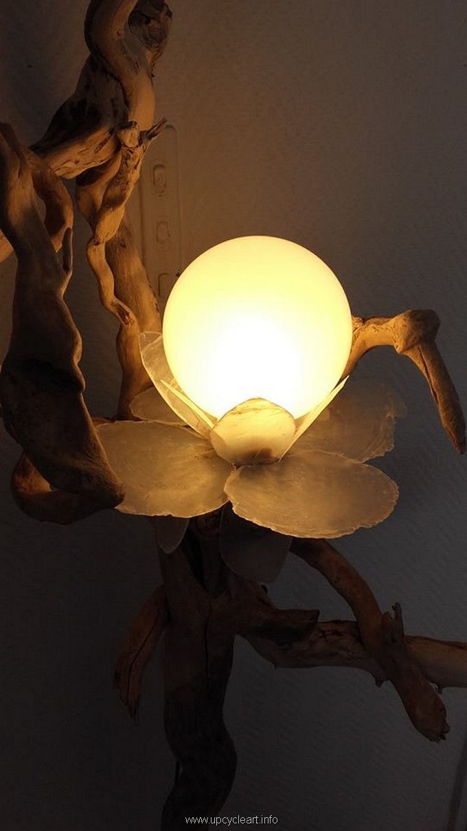 diy driftwood lamp 3