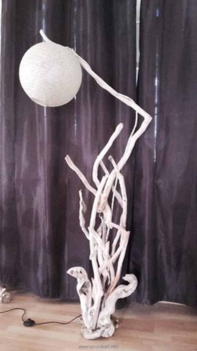 diy driftwood lamp plan