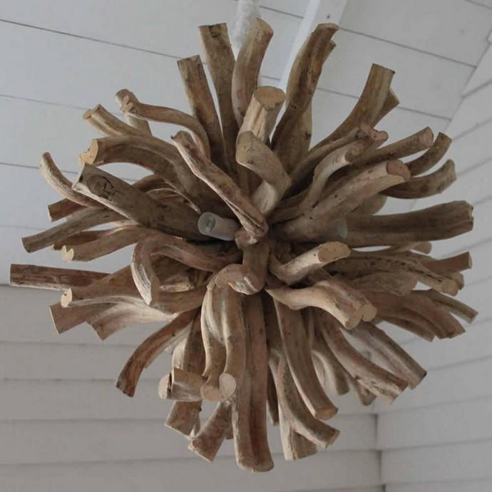 driftwood inferno chandelier