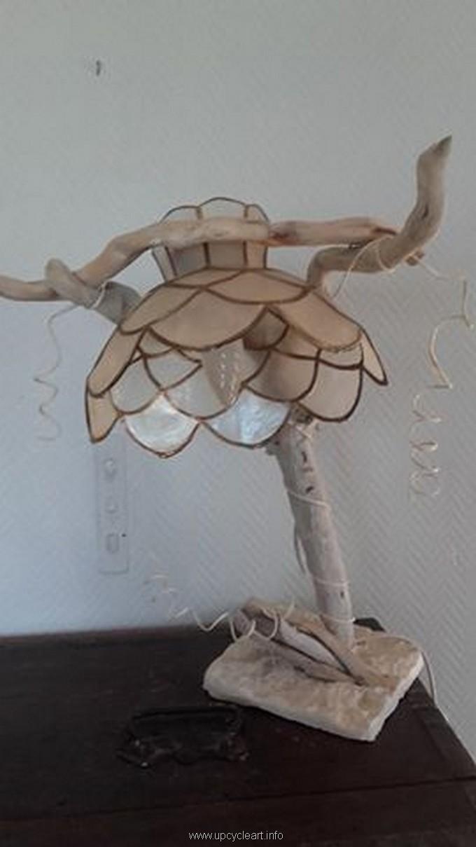 driftwood lamp idea