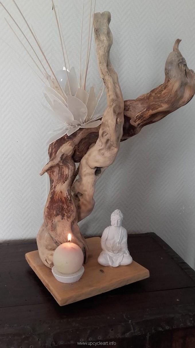 driftwood lamp plan