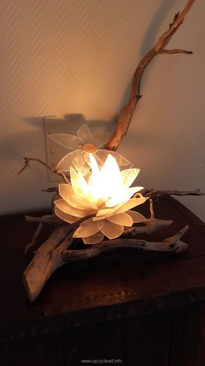 driftwood lamp project 2