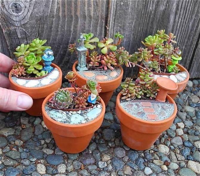 fairtale garden pots