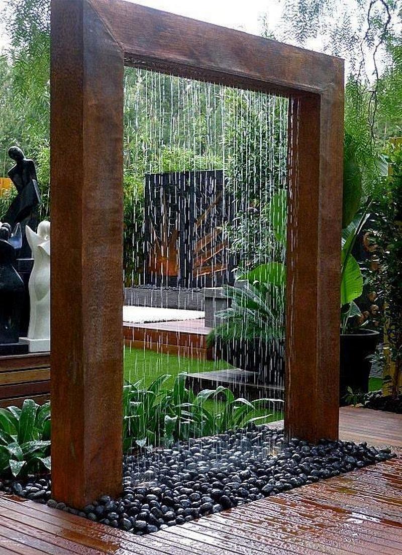 garden shower idea