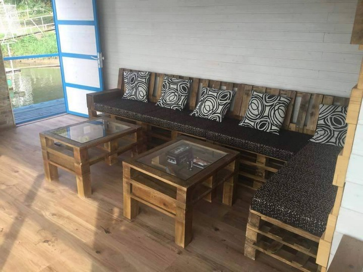 ideas of pallet furniture