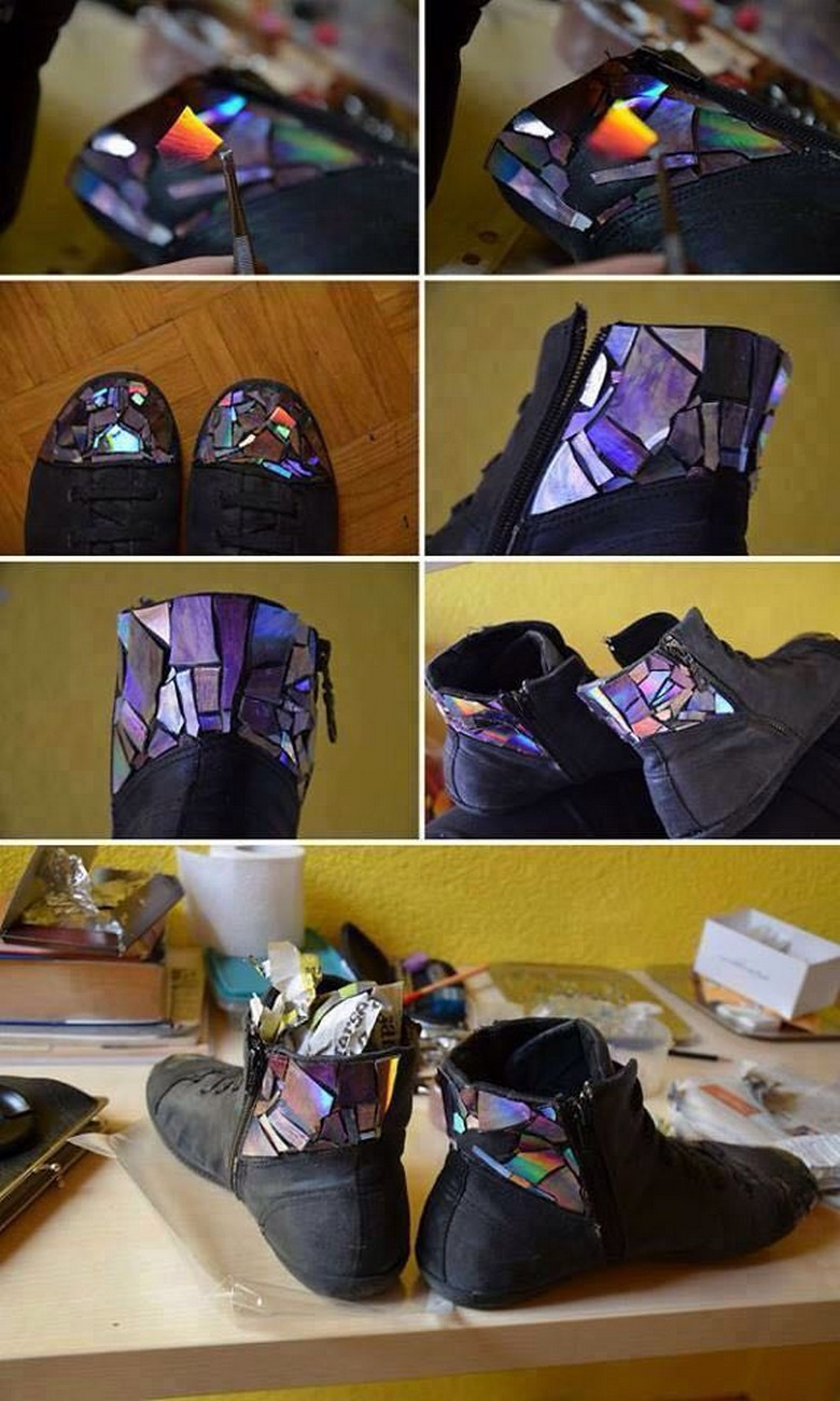 old cds shoes reshape