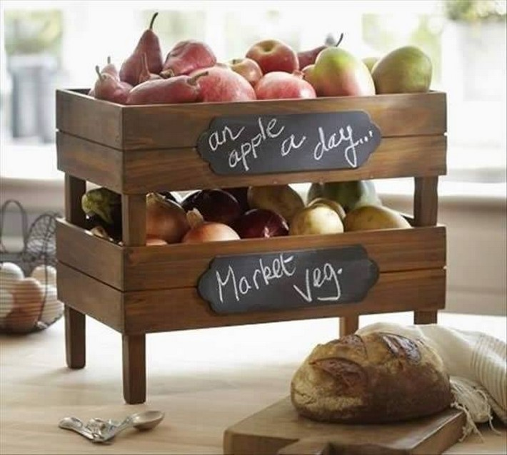 pallet fruit racks