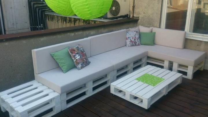 pallet recycled furniture