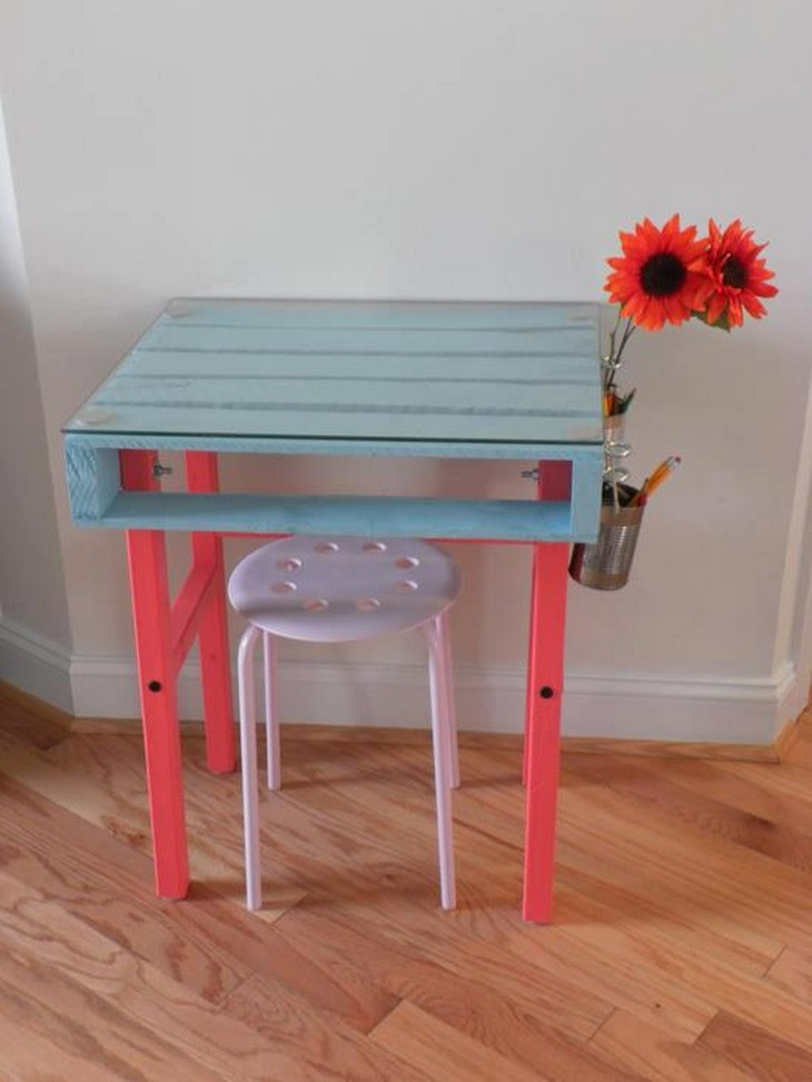 pallet table for kids