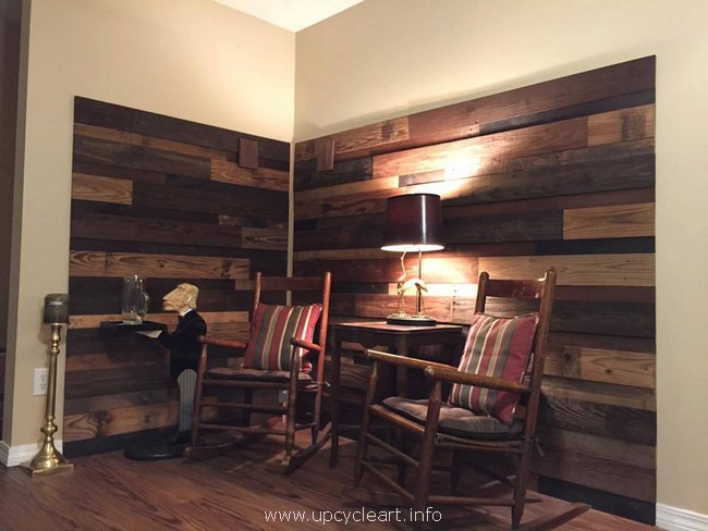 pallet wall works